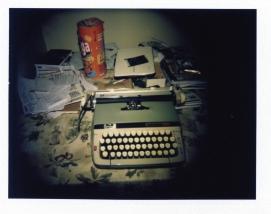 my brand new typewriter