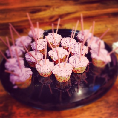 Yarn Cupcakes