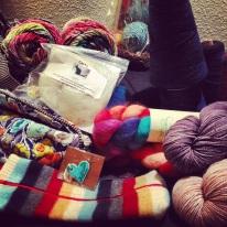 Yarn crawl haul.