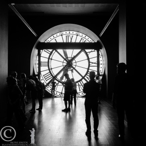 From inside the Musee d'Orsay