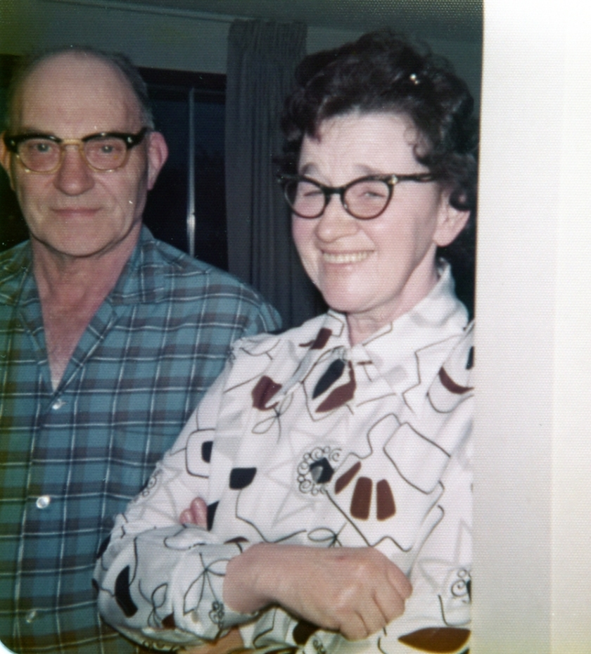 Grandpa and Grandma Smith.
