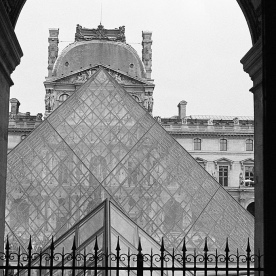 Pyramids at the Louvre