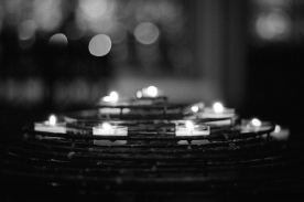 Prayers at Notre Dame