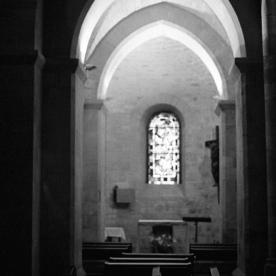 Inside Saint-Pierre de Monmartre