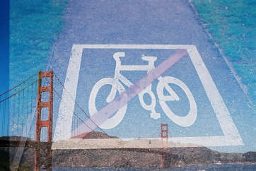 No bikes on bridge