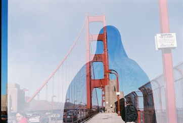 Mother Mary watches over the Golden Gate