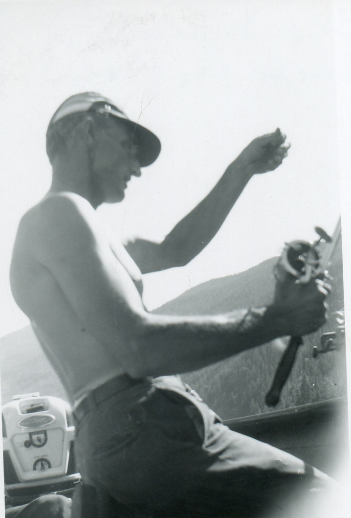 Grandpa Ed Fishing