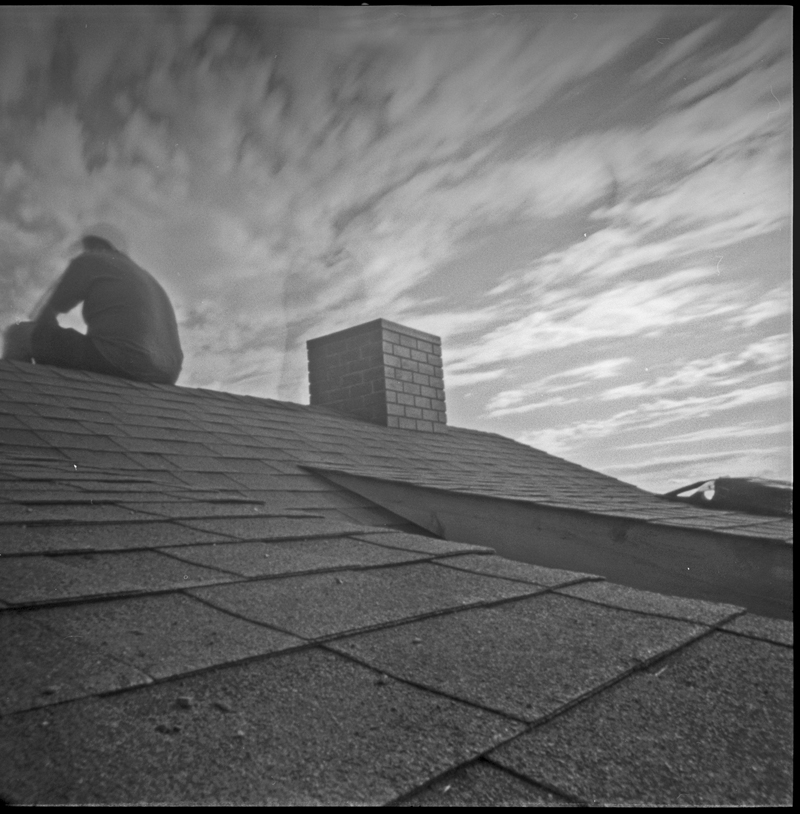 Pinhole shot by my husband, Rafael.