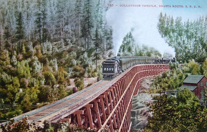 800px-Shasta_Limited_in_Siskyou_Range_on_Dollarhide_trestle_1911
