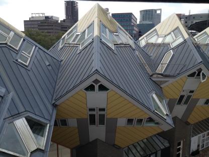 Cube houses!