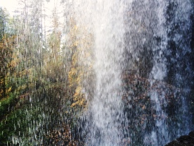 behind Lower South Falls