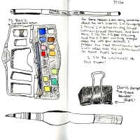Travel Sketchbook - Art Supplies