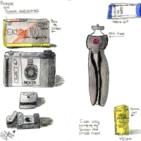 Travel Sketchbook - Pinhole And Pinhole Accessories