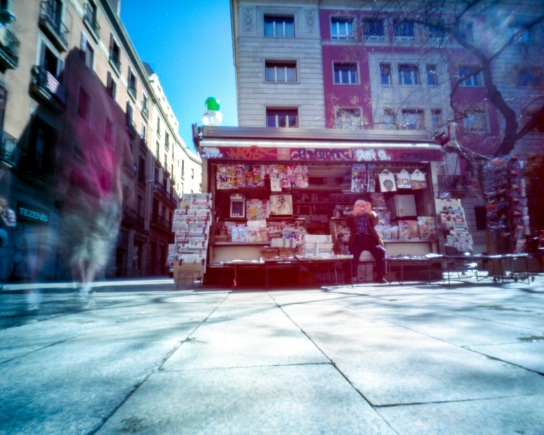 Pinhole day in Barcelona was unforgettable. I really hope to return to that city again someday.