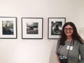 "In May and June my pinhole photos were in a show called ""Slowing the Selfie!"""