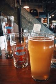 Beer at Buoy Brewery