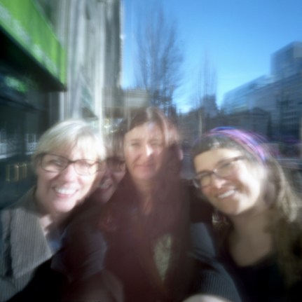In January I had a really fun meetup in Portland with my #PinholeMayhem gals. It was a beautiful sunny day.