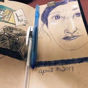 4/8: Fun with a Ballpoint Pen