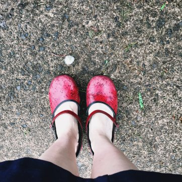 5/11: Put on your red shoes.