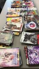 5/6: Free comic book day!