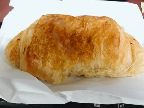 I HAVE A CHOCOLATE CROISSANT