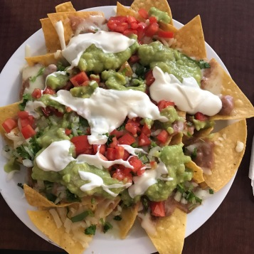 Nachos: my favorite after run meal!