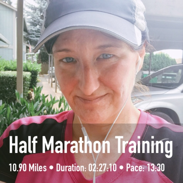 """This is my """"holy shit I just ran 10.5 miles"""" face."""