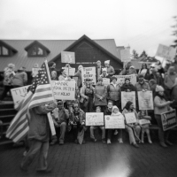 Women's March Holga Portraits